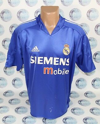 bcc060f90 Real Madrid 2004 2005 Third Football Soccer Shirt Jersey Camiseta Maillot L
