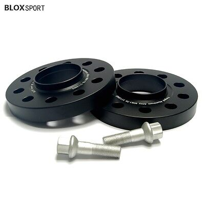 (2) 20mm Audi Wheel Spacers Kit 5x112 Fits A4 S4 A5 S5 2009-2017 Aluminum Forged