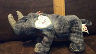 4652cecf16c Ty Beanie Babies Nami The Black Rhino 2004 Hang Tag Internet Exclusive Plush
