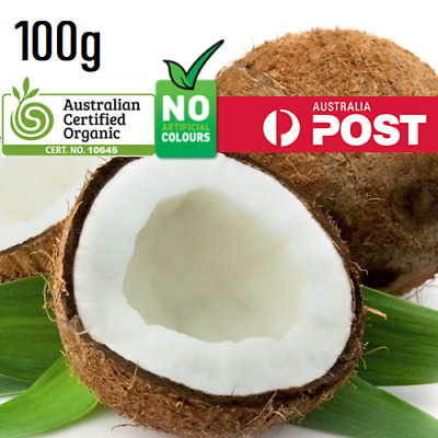 Certified ORGANIC Extra Virgin COCONUT OIL UNREFINED 100g Premium