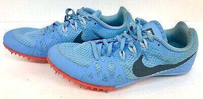 competitive price 46f22 4ff53 Nike Womens Zoom Rival M Multi Use Track Spikes Blue 806559-446 Size 7.5