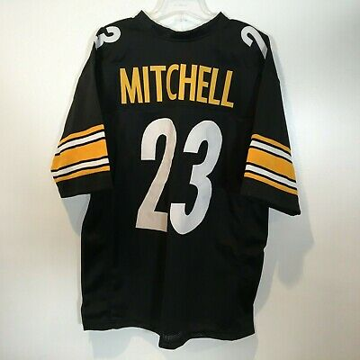 a42e002e47e Mike Mitchell Pittsburgh Steelers Size XL Custom Home Jersey Stitched Sewn   23
