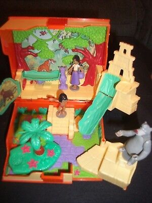 Mini Polly Pocket Neu Ovp New Disney Jungle Book Playset Dschungel Buch Puppen Spielzeug