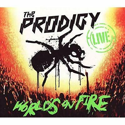 Live World's On Fire [CD & DVD] The Prodigy Audio CD