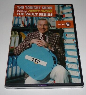 The Tonight Show Starring Johnny Carson - The Vault Series Volume 5 DVD - NEW