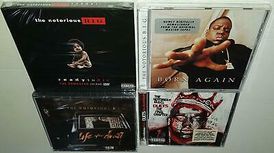 The Notorious Big Discography Bundle Brand New Sealed 5Cd Dvd Pack Ready To  Die