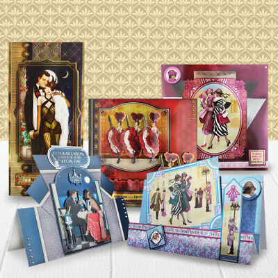 PRE -ORDER Pick of the WEEKEND -BRAND new LUXURY CARD making KIT & FREE GIFT