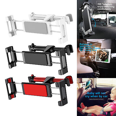 """Car Back Seat Headrest Mount Holder Stand for 4.7-12.9"""" iPhone Tablet iPad Lot"""