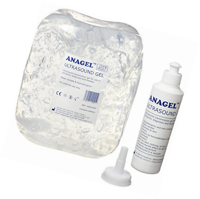 Ultrasound Gel 5L refill with 250ml Bottle Applicator Fetal Doppler Vascular