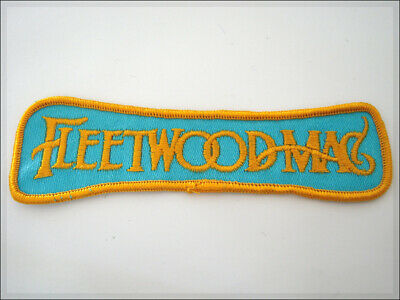 Vintage Patch FLEETWOOD MAC Rock London Retro 80's THIN LIZZY RUSH PINK FLOYD