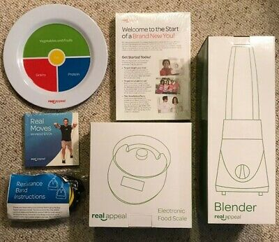 Real Appeal Weight Loss Program Essentials~New In Box