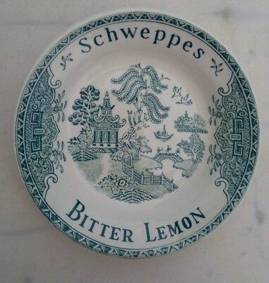 "SCHWEPPES: Cendrier-vide monnaie, Posacenere,Ashtray,""Indian Tonic"" GIEN"
