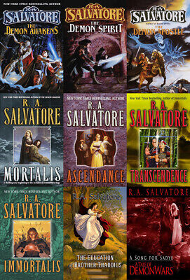 The DEMON WARS Series By RA Salvatore (10 MP3 Audiobook Collection)