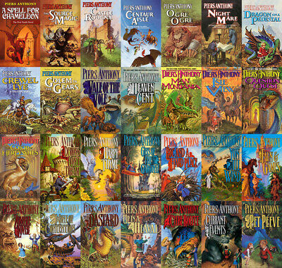 The MAGIC OF XANTH Series By Piers Anthony (29 MP3 Audiobook Collection)