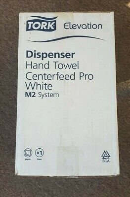 Tork dispenser hand towel centerfeed pro White M2 55 90 20 A