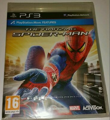 The Amazing Spider-Man PS3 New Sealed UK PAL Version Game Sony PlayStation 3