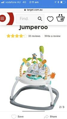 Brand new fisher Price colorful Spacesaver Jumperoo pick up at Chatswood
