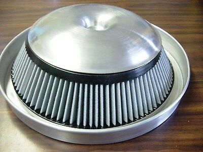 "'70 to '79 Trans Am 1.375"" drop base air cleaner for High rise Edlebrock RPM"