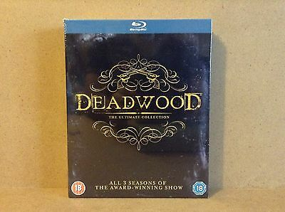 Deadwood - Seasons 1-3 :The Complete Ultimate Collection (Blu-ray)  *BRAND NEW*