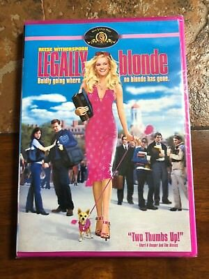 LEGALLY BLONDE - DVD - Brand NEW, Sealed !!!  EXCEPTIONAL PRICE !!!!!