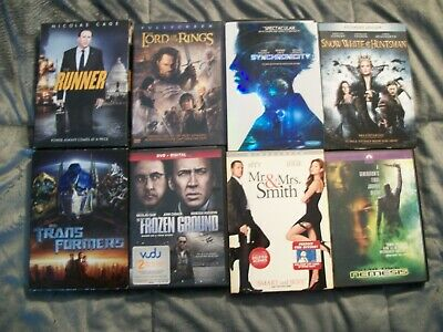 Wholesale Lot Of 18 Dvd Movies Used Condition Various Ratings Pg-R .all Working