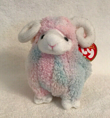 9cd07a2cd53 TY BAM the RAM BEANIE BABY MWMT PASTEL COLORS 6