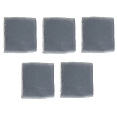 5x Large Grey Kneaded Erasers DIY Artist Kids Painitng Supply Kneaded Eraser