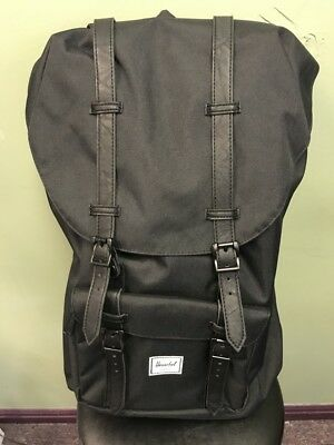 Herschel Supply Co. Little America Backpack Back Pack Black Black SL 10014 -00535 f1d044b6ed3