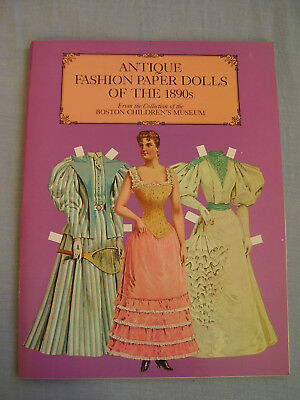 Antique Fashion Paper Dolls of the 1890s from the Boston Childrens Museum
