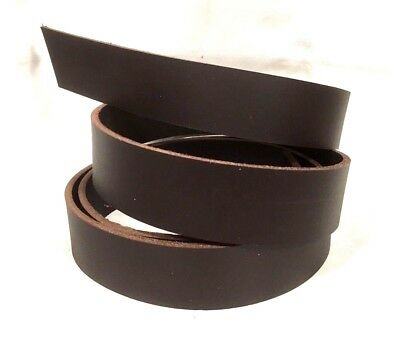 BROWN Leather Strap Belt Blank Rifle strap restraint remnant Guitar RATS BUM