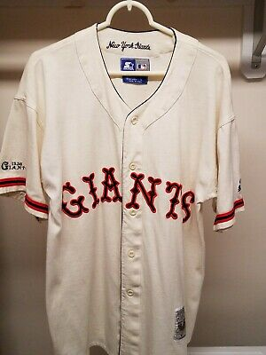 Rare Cooperstown Collection New York Giants Starter Baseball Jersey
