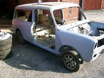 Classic Mini Clubman Estate 1980 159500 Picclick Uk