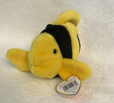 TY BEANIE BABY ~ BUBBLES the Fish ~ MWMT -  7.90  c32f4bf18726