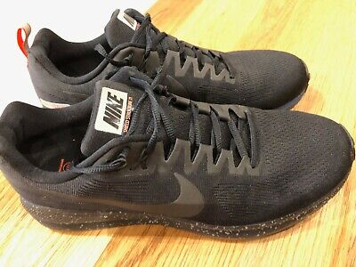 719fc238dffb9 NIKE AIR ZOOM Structure 21 Shield Black Obsidian Mens Size 10 - EUR ...
