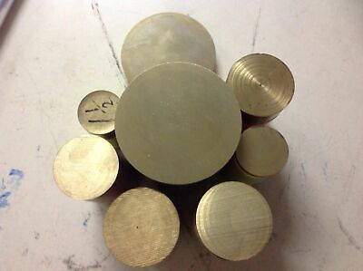 Brass Round Bar  Various Lengths & Diameters  - As1567 C385