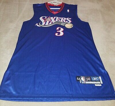 newest f6e04 c42a2 ALLEN IVERSON PHILADELPHIA 76ers #3 2004/2005 Signed Game Worn Game Used  Jersey
