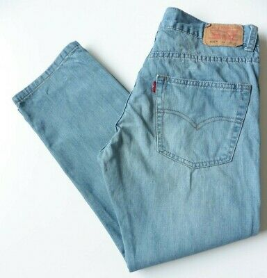 Boys' Men's Levis 505 Straight Leg Jeans W30 L26 Blue Levi Strauss Size 30S