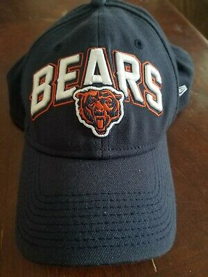 NWT Fitted New Era 39Thirty Chicago Bears NFL Draft Cap Hat Mens Size s m 6263f0865