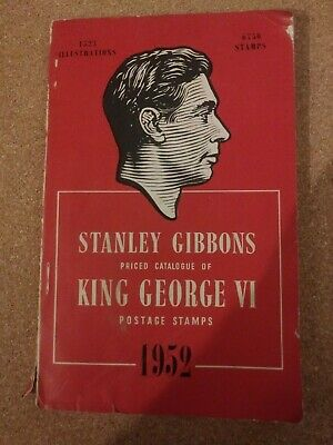 1952 Stanley Gibbons King George VI postage stamp catalogue  fourth edition