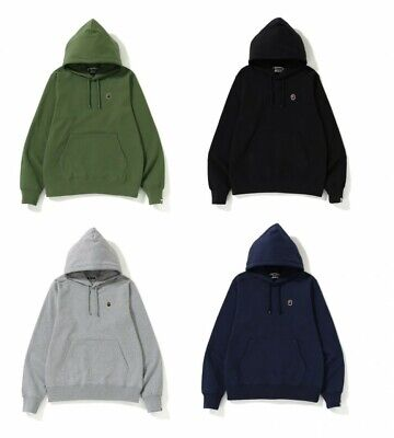 ONLINE EXCLUSIVE A BATHING APE Men/'s ONE POINT PULLOVER HOODIE 4color New S-3XL
