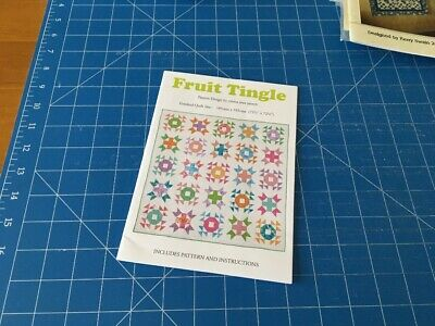 Quilting Pattern Fruit Tingle