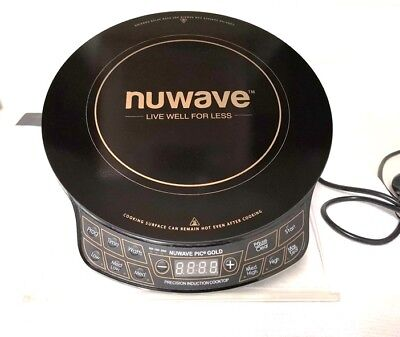 Nuwave GOLD Induction Cooktop (Portable) GREAT FOR CARAVAN AND CAMPING!