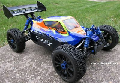 RC Car / Buggy EB6 Brushless Electric 1/8 Scale TOP2 PRO LIPO  99591 1 Yr Warr.