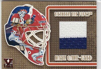 Cristobal Huet Final Vault 2006-07 Between The Pipes The Mask Game-Used MGU-08 V