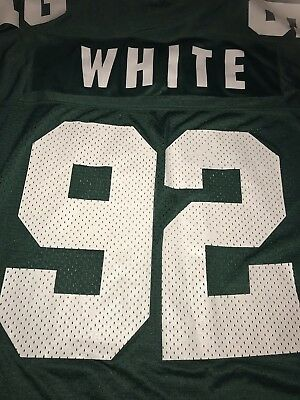 NWOT VTG Green Bay Packers REGGIE WHITE Starter NFL Jersey Size 48 L  Authentic afb57b92c