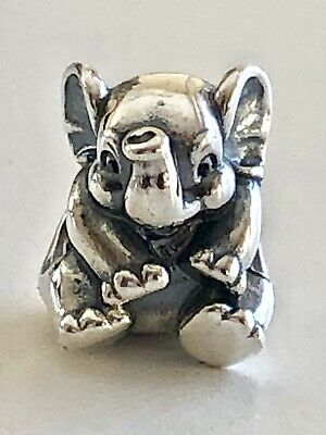 Authentic Pandora Silver Lucky Elephant #791902
