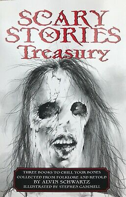 Scary Stories to Tell in the Dark - Schwartz 3 Complete Books & Artwork in 1 PB!