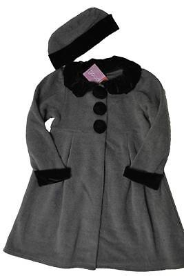 bb9c79abf GIRLS GOODLAD BLACK Dress Coat with Decorative Buttons size 5 ...