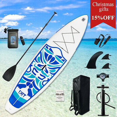 "Inflatable Stand Up Paddle Board Sup-Board Surfboard Kayak Surf set 10'6x33""x6"""