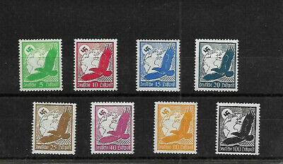 GERMANY 1934 AIRMAIL, MINT LIGHT HINGED. MISSING 50pf.